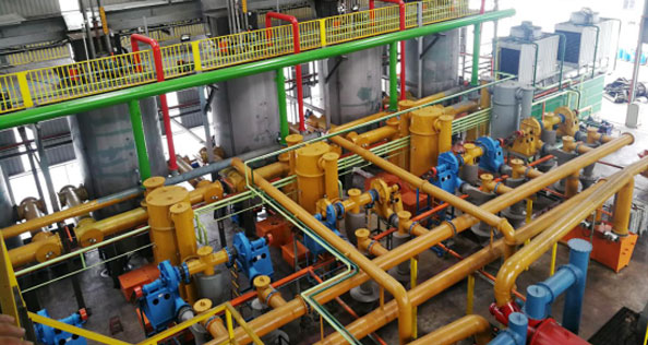 waste pyrolysis gasification cogeneration